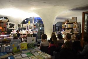 Soirée à la librairie du Mucem, dans le cadre de la Journée mondiale de lutte contre le sida